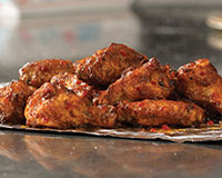 Sweet Mango Habanero Wings